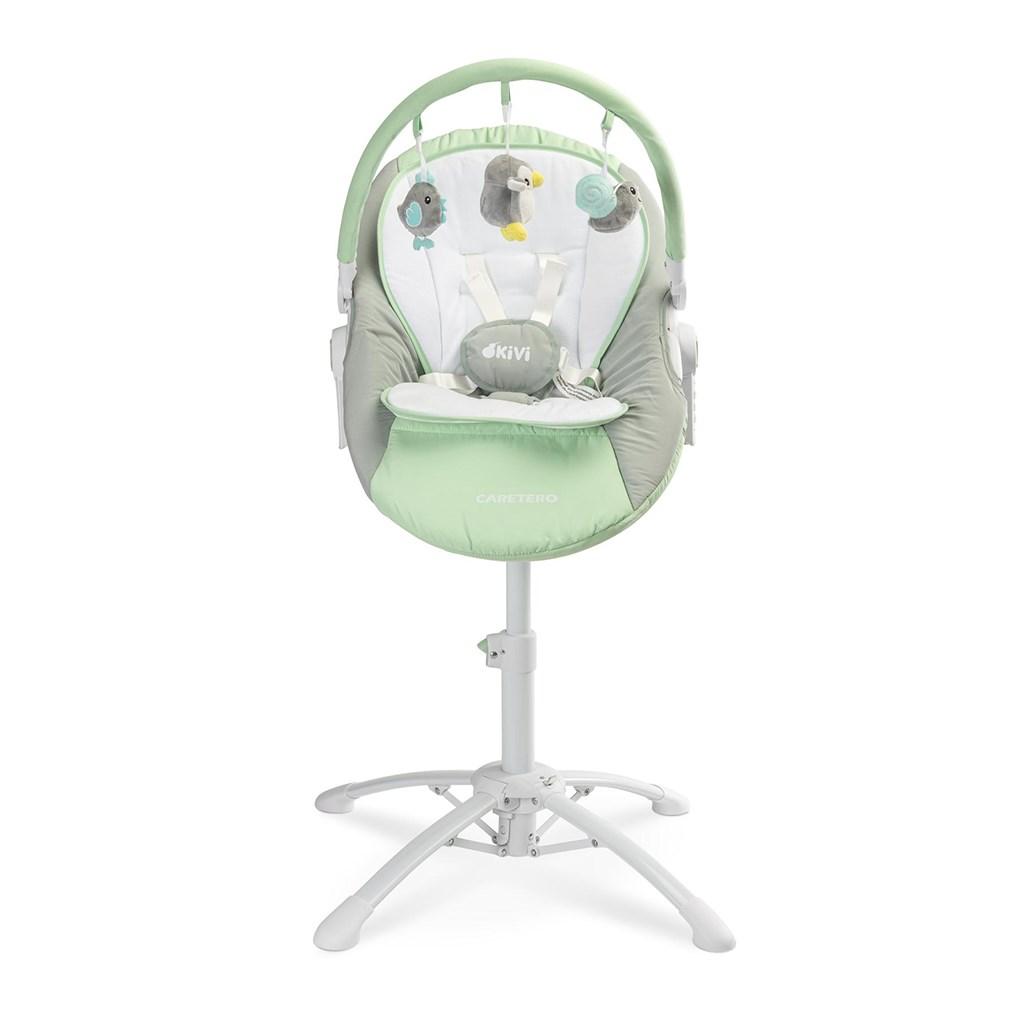Dětská jídelní židlička 3v1 Caretero Kivi mint