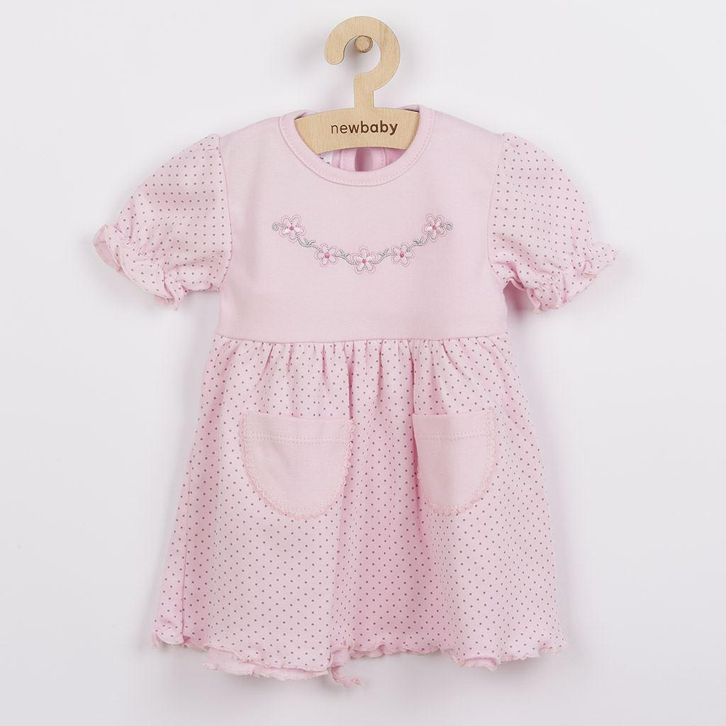 Kojenecké šatičky s krátkým rukávem New Baby Summer dress, Velikost: 74 (6-9m)