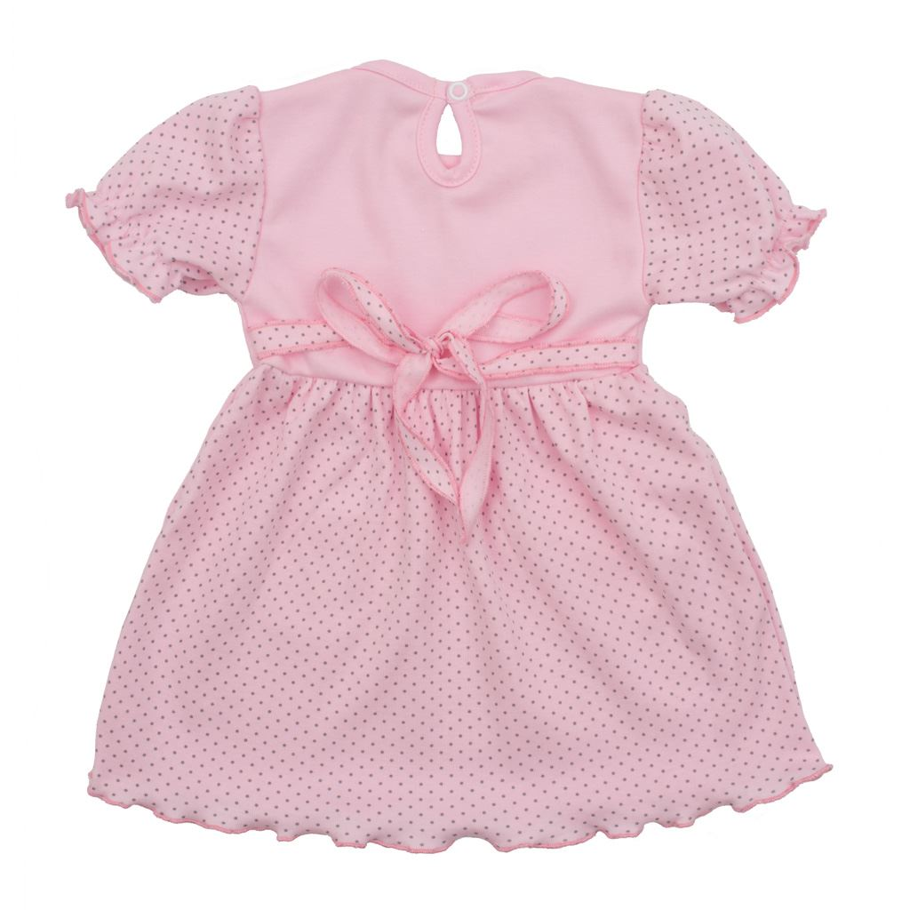 Kojenecké šatičky s krátkým rukávem New Baby Summer dress