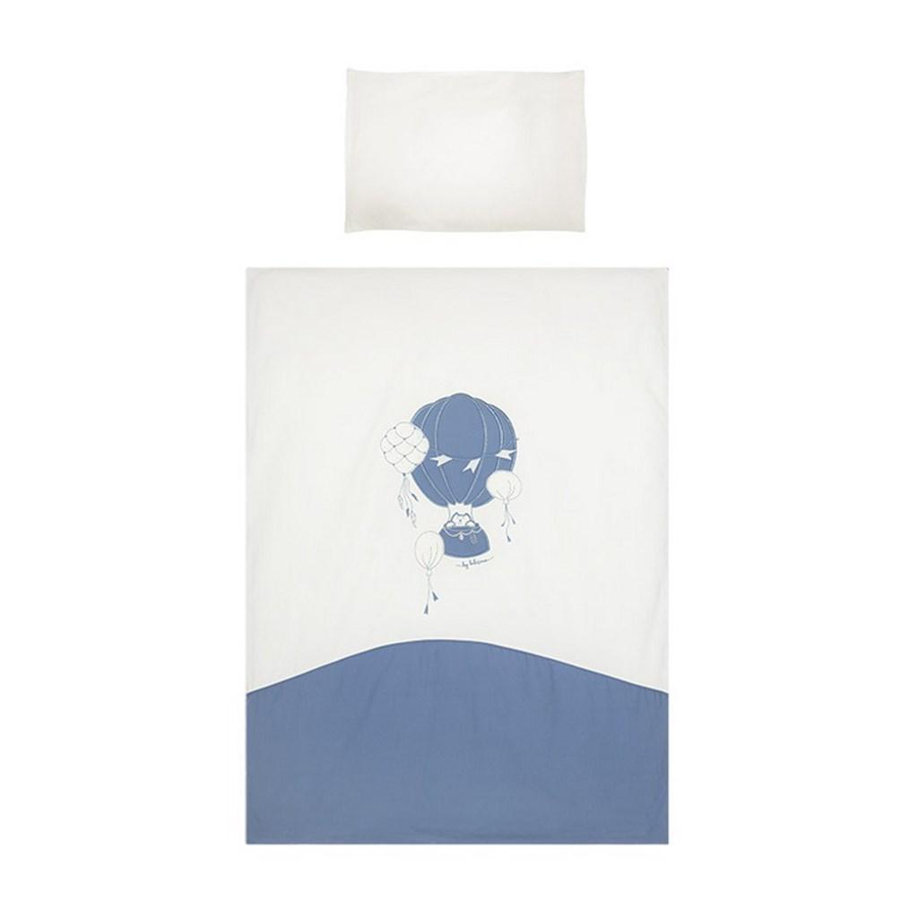 2-dílné ložní povlečení Belisima Ballons 90/120 modré