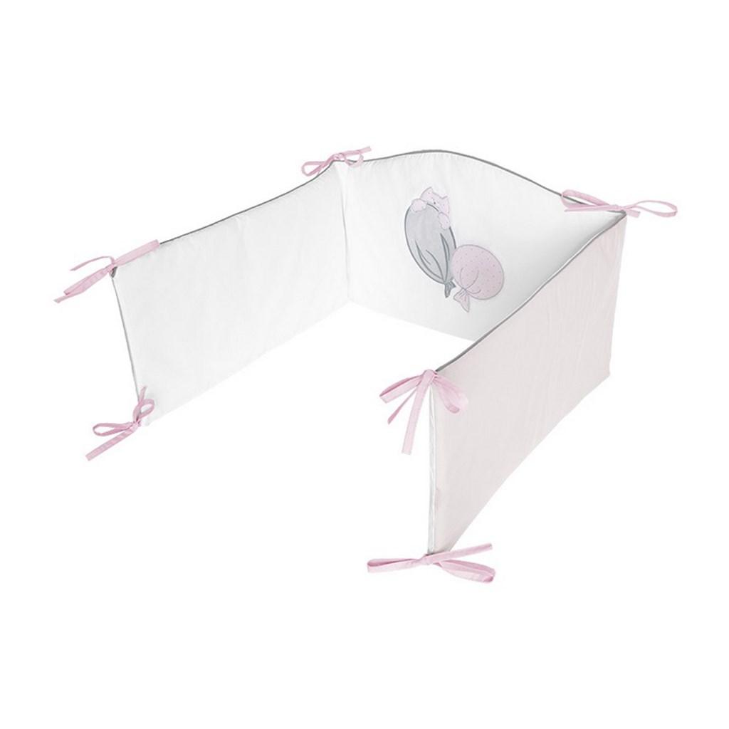 3-dílné ložní povlečení Belisima Ballons 90/120 růžové