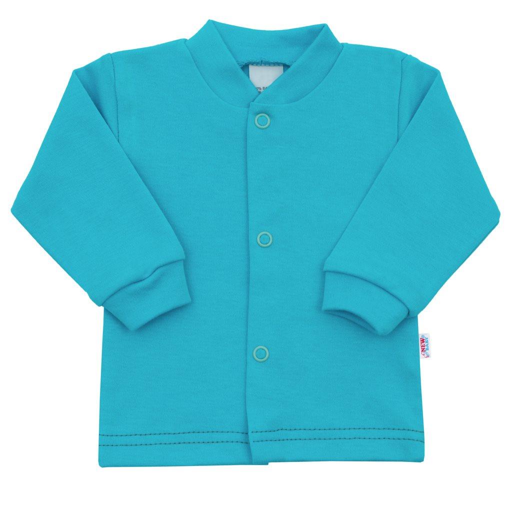 Kojenecký kabátek New Baby Mouse tyrkysový, Velikost: 56 (0-3m)