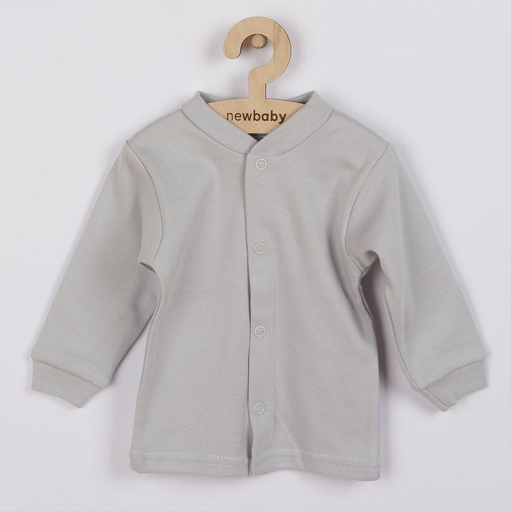 Kojenecký kabátek New Baby Mouse šedý, Velikost: 68 (4-6m)