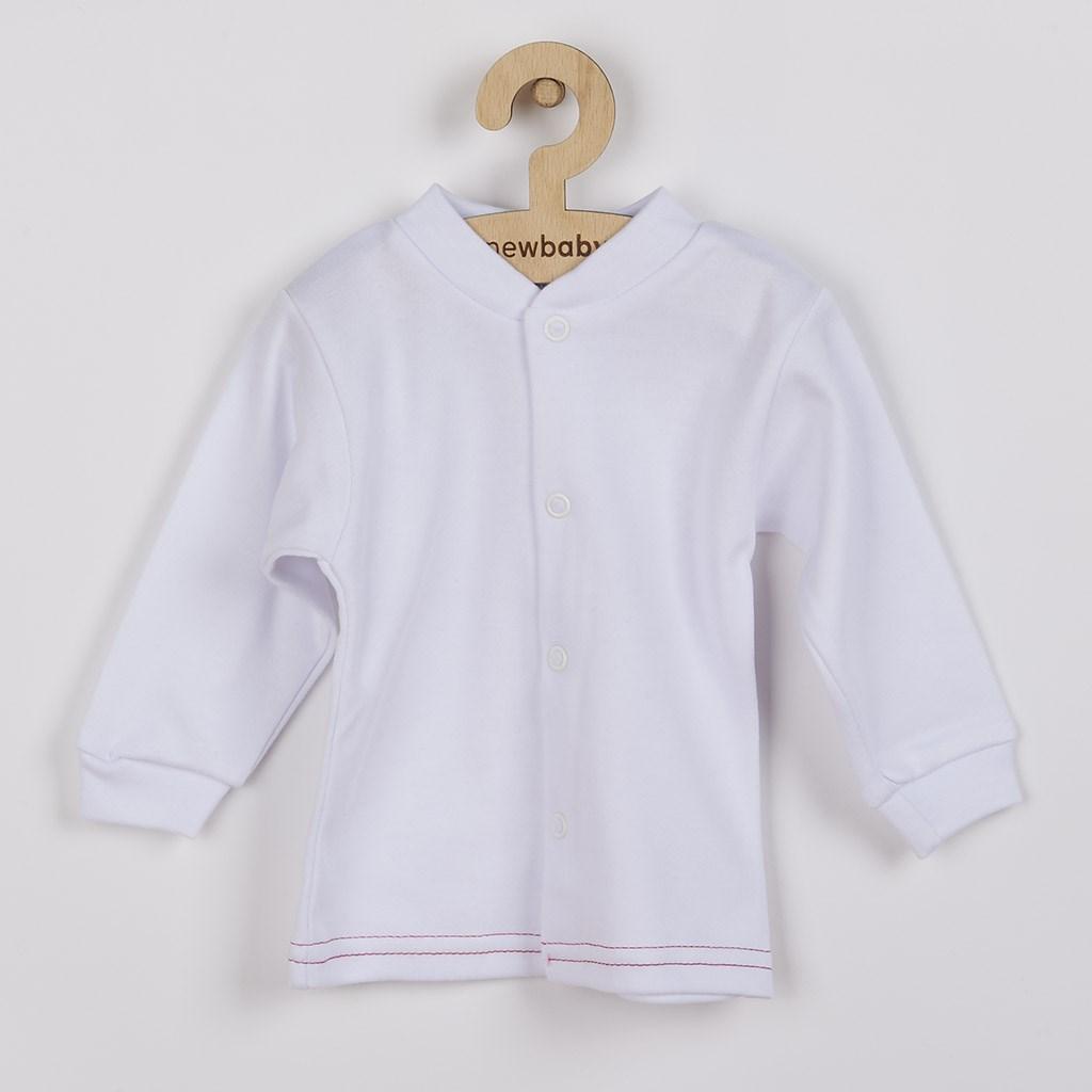 Kojenecký kabátek New Baby Mouse bílý, Velikost: 74 (6-9m)