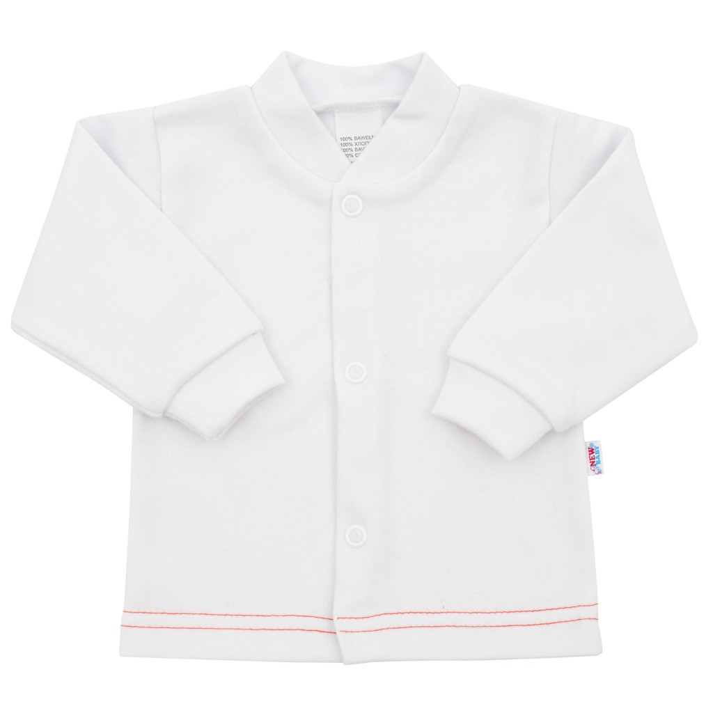 Kojenecký kabátek New Baby Mouse bílý, Velikost: 86 (12-18m)