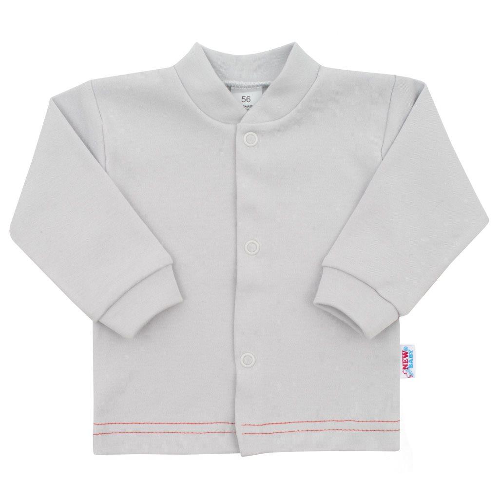 Kojenecký kabátek New Baby Mouse šedý, Velikost: 86 (12-18m)