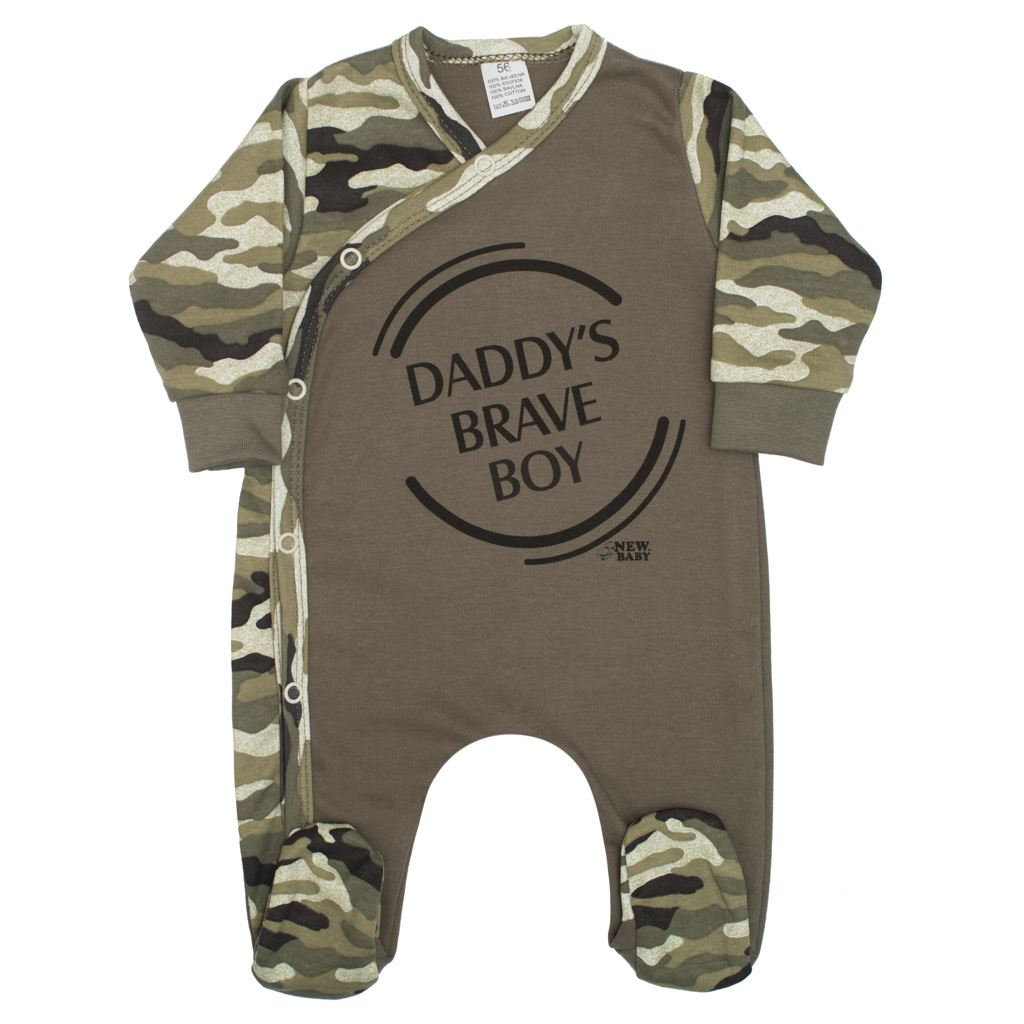 Kojenecký overal New Baby Army boy, 80 (9-12m)