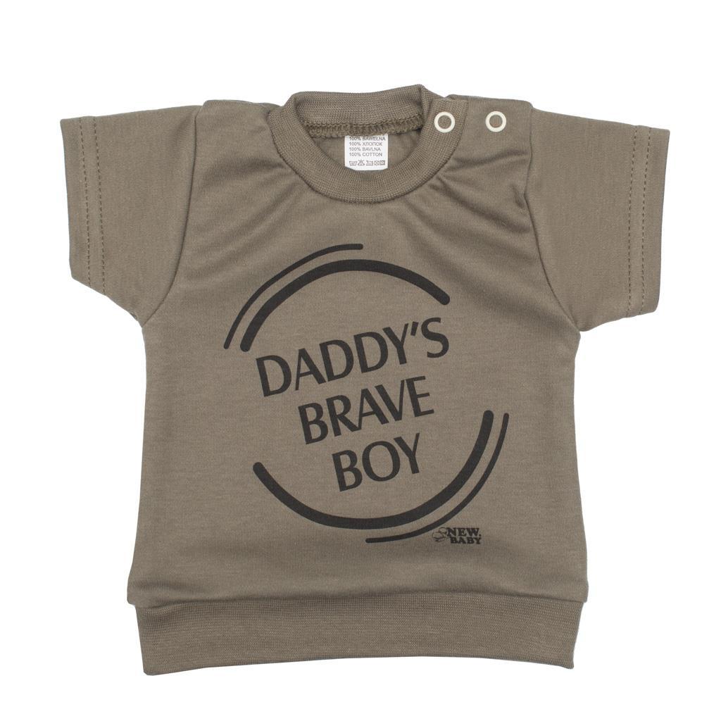 2-dílná kojenecká souprava New Baby Army boy vel. 56 (0-3m)