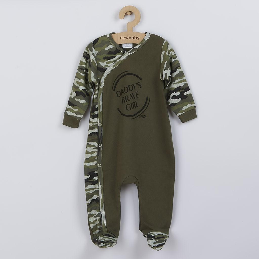 Kojenecký overal New Baby Army girl, 74 (6-9m)