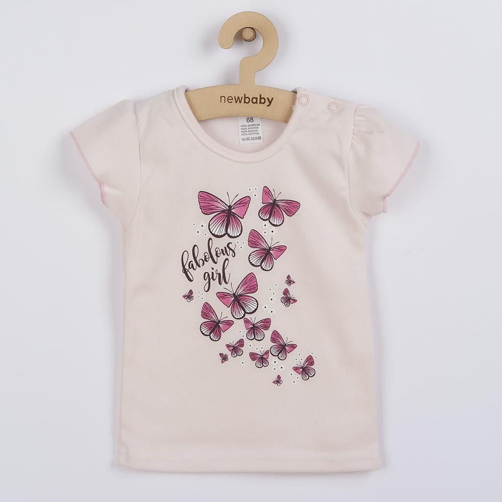 Kojenecké tričko se sukýnkou New Baby Butterflies, 80 (9-12m)