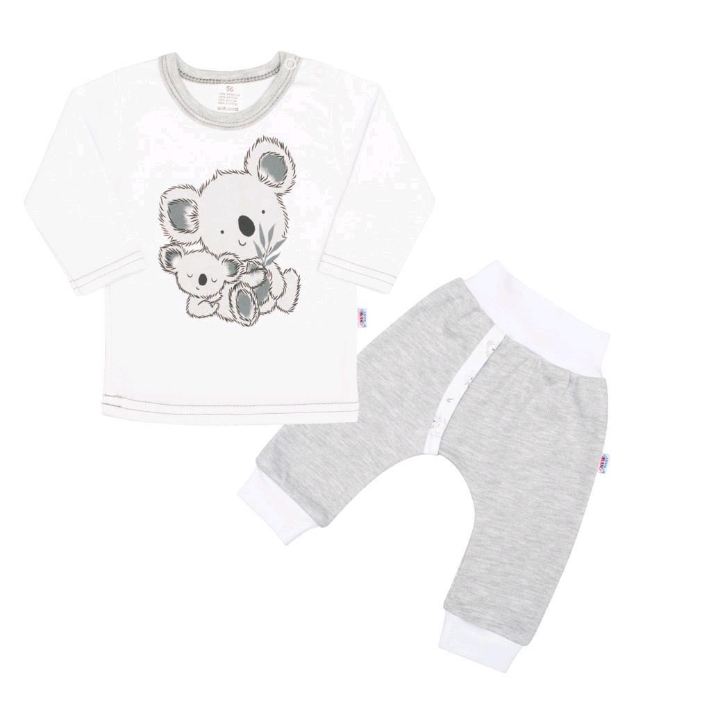 Kojenecké tričko s dlohým rukávem a tepláčky New Baby Koala Bears, Velikost: 68 (4-6m)
