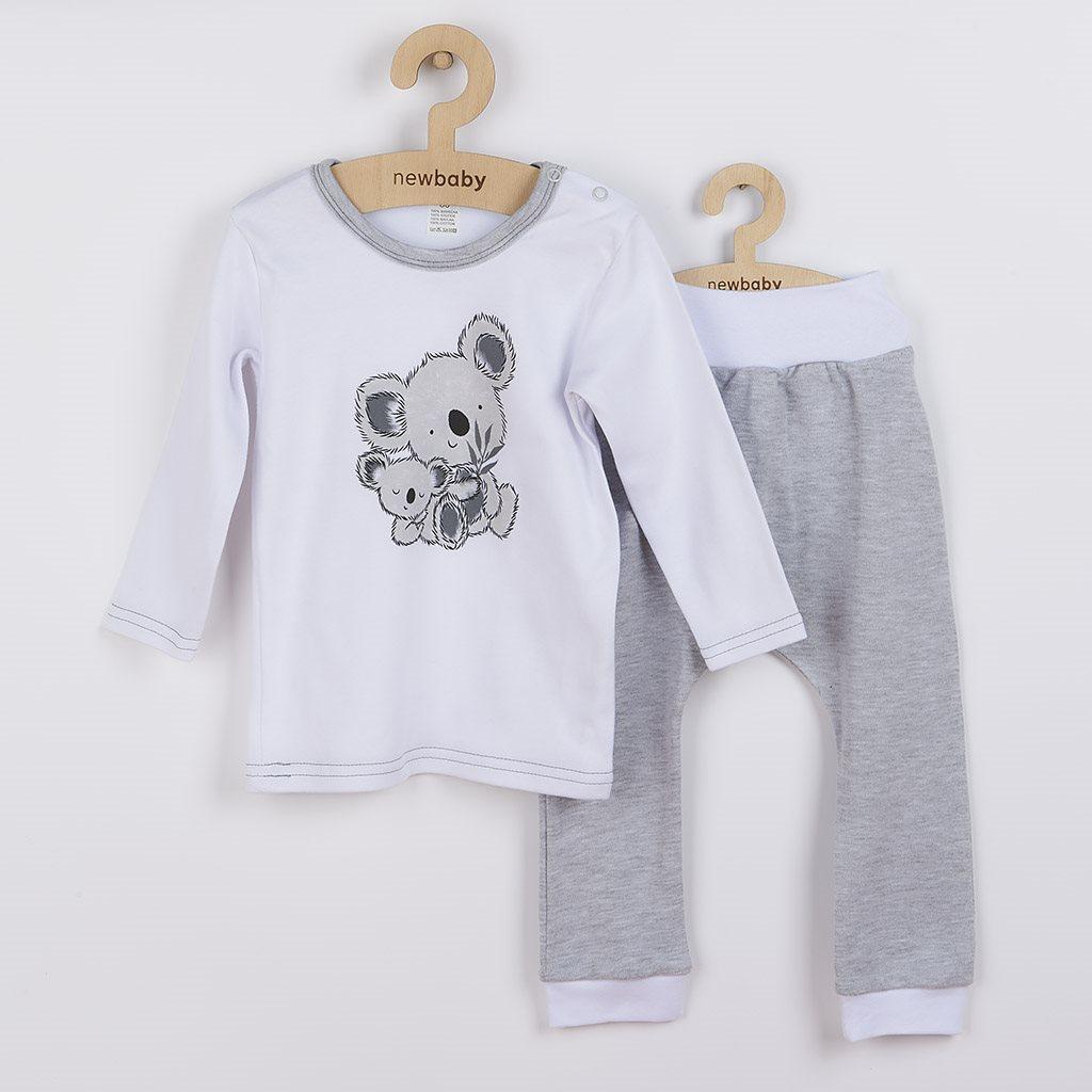 Kojenecké tričko s dlohým rukávem a tepláčky New Baby Koala Bears, Velikost: 80 (9-12m)