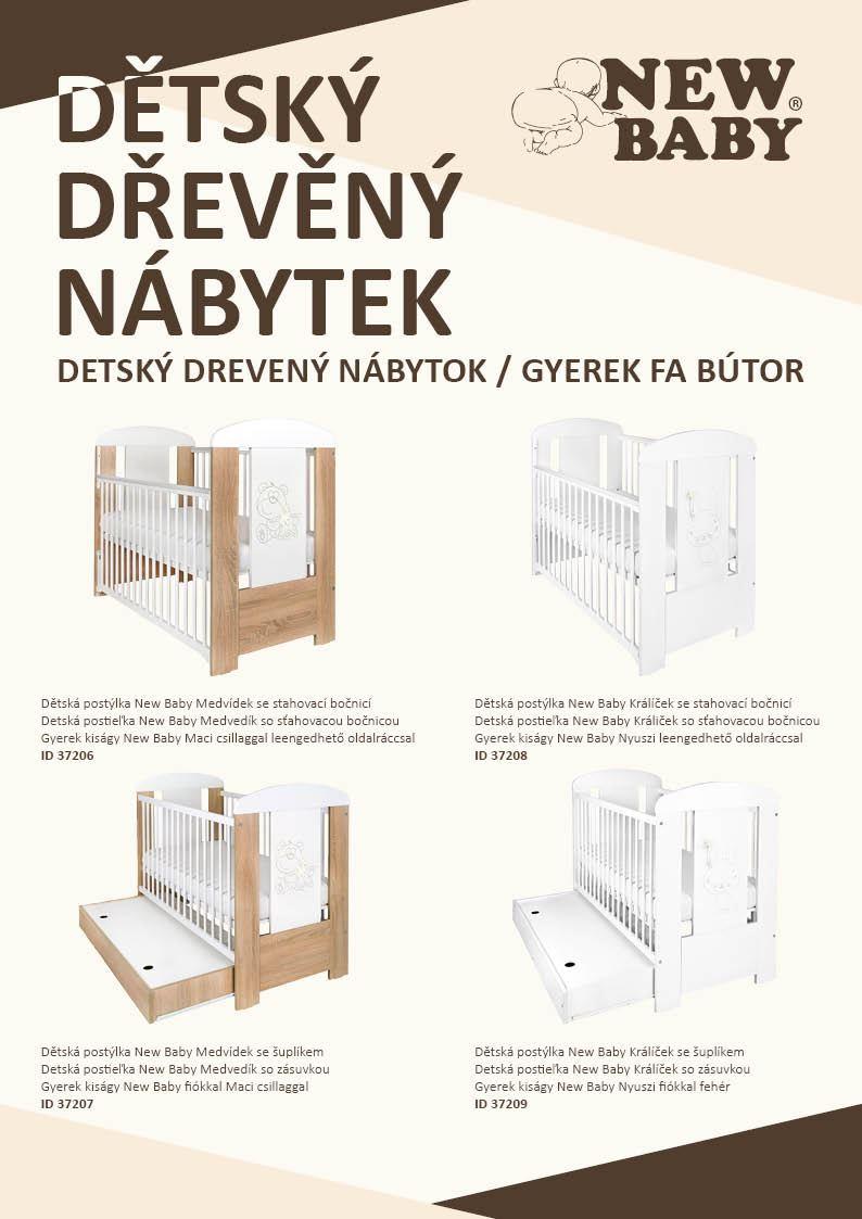 Propagační materiály New Baby NÁBYTEK - katalog 2020 balení 100 ks