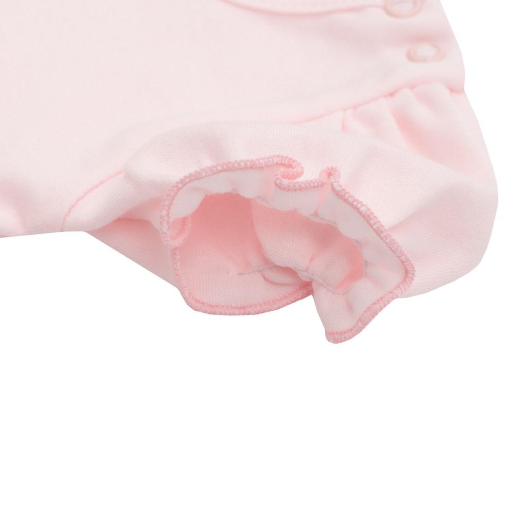 Kojenecké body s tylovou sukýnkou New Baby Wonderful růžové