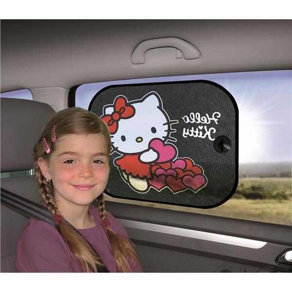 Stínítka do auta 2 ks v balení Hello Kitty 2