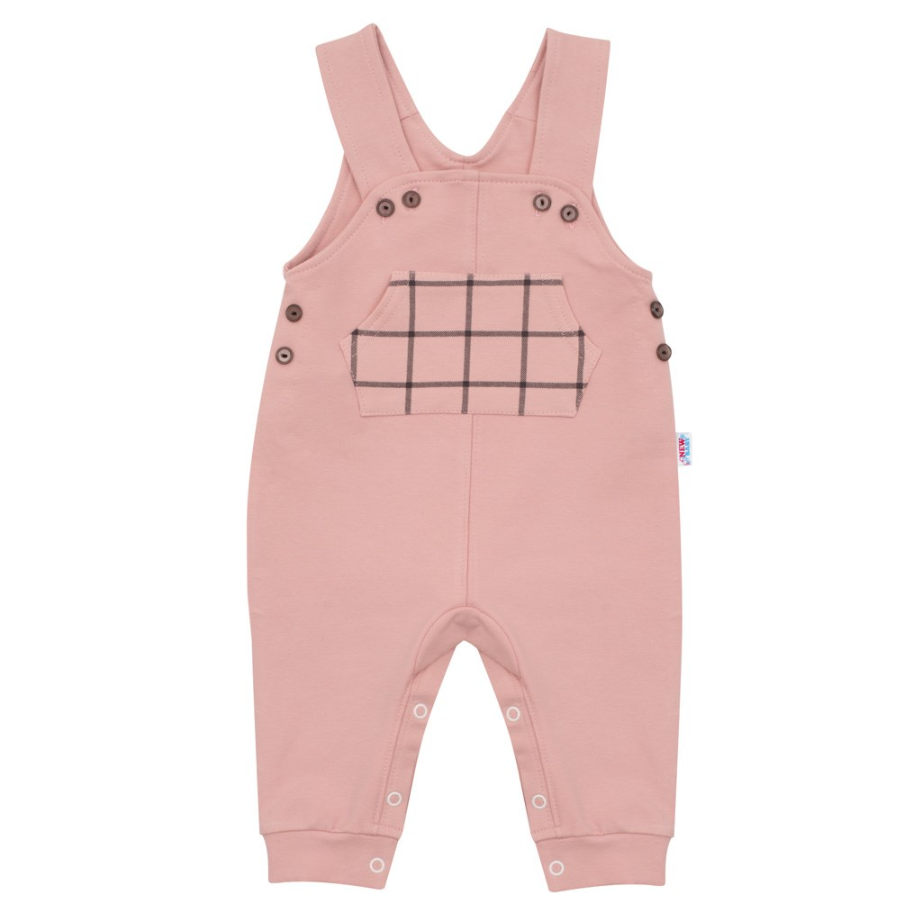 Dětské lacláčky New Baby Cool růžové, 62 (3-6m)