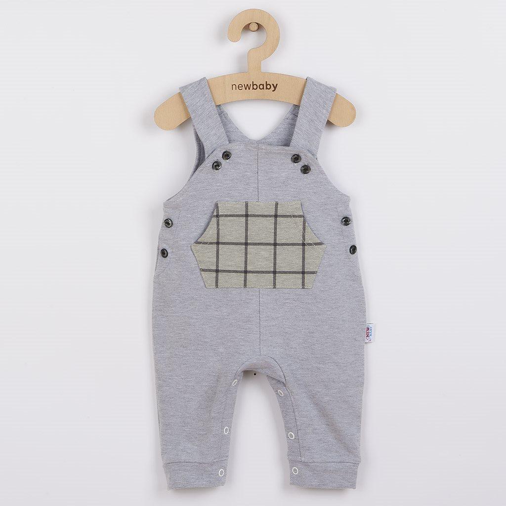 Dětské lacláčky New Baby Cool šedé