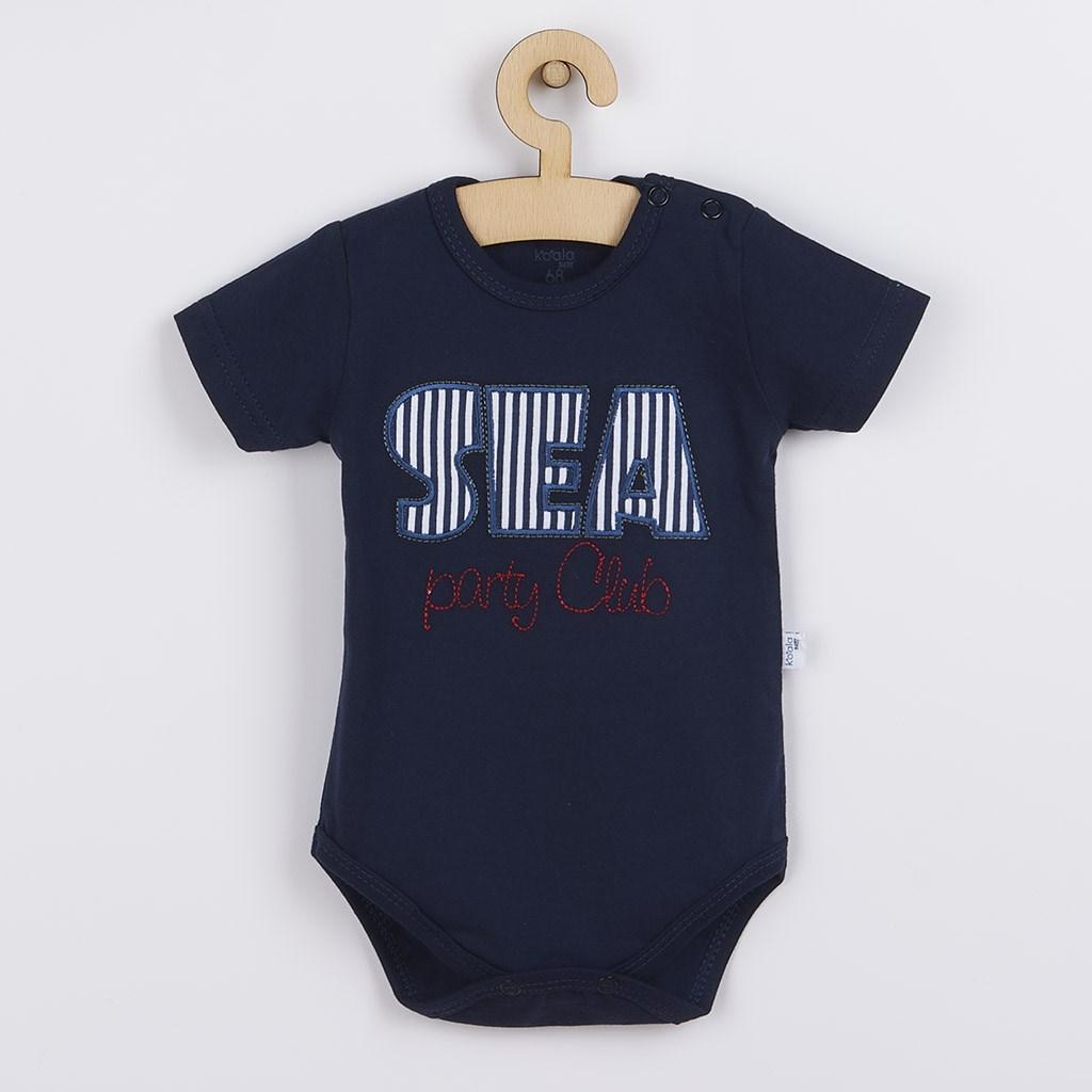 Kojenecké letní body Koala Sea Party modré, 68 (4-6m)