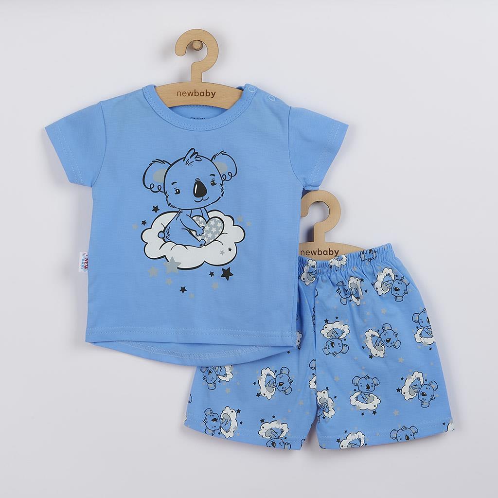 Dětské letní pyžamko New Baby Dream modré, Velikost: 86 (12-18m)