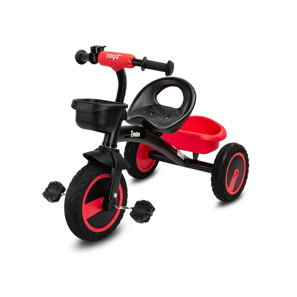 Dětská tříkolka Toyz Embo red