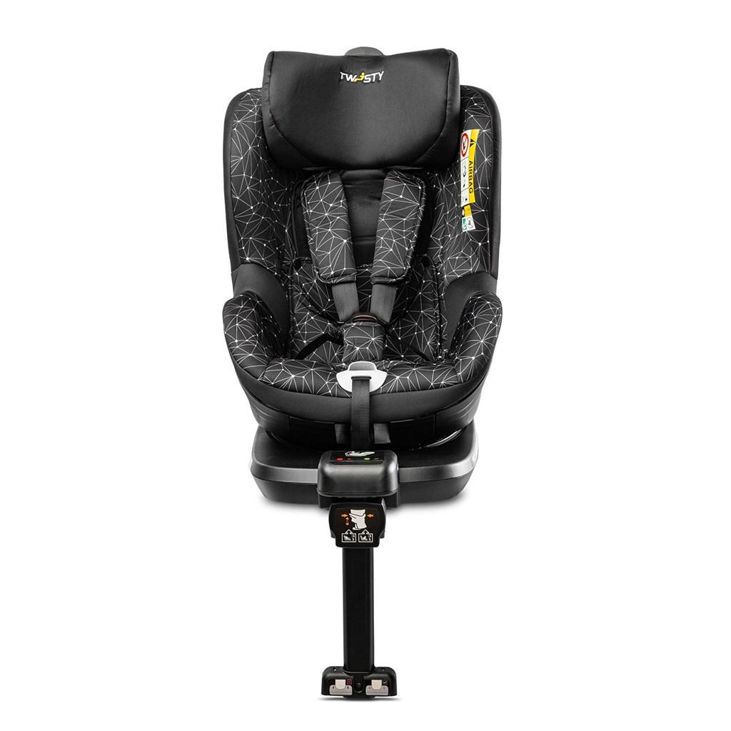 Autosedačka CARETERO Twisty Isofix i-Size black 2020