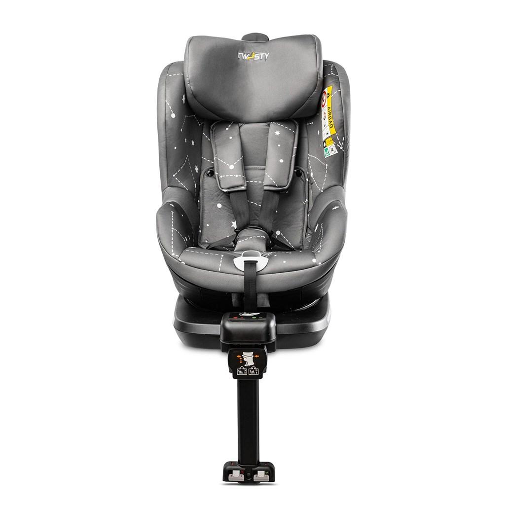 Autosedačka CARETERO Twisty Isofix i-Size grey 2020