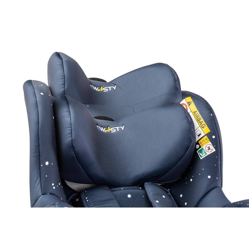 Autosedačka CARETERO Twisty Isofix i-Size navy 2020