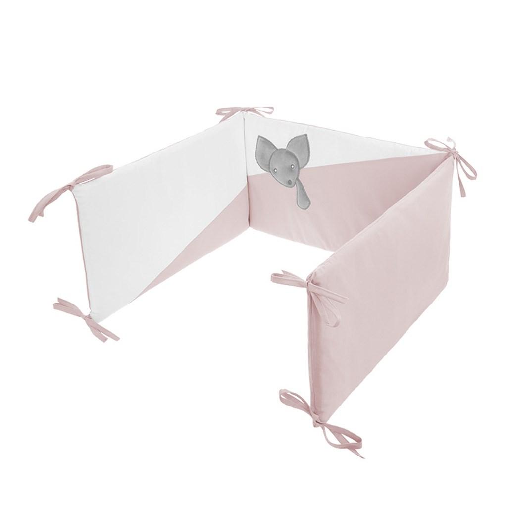5-dílné ložní povlečení Belisima Mouse 90/120 růžové