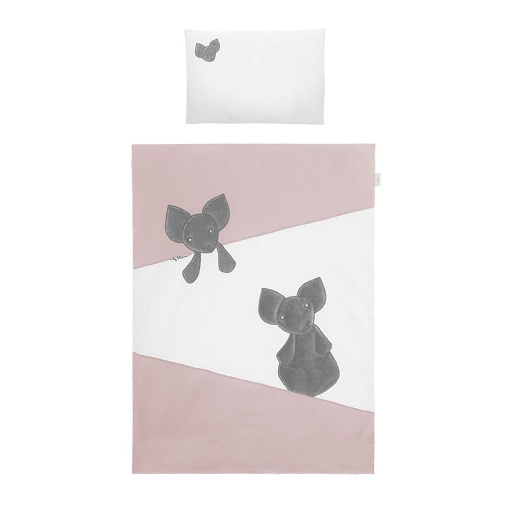 6-dílné ložní povlečení Belisima Mouse 90/120 růžové