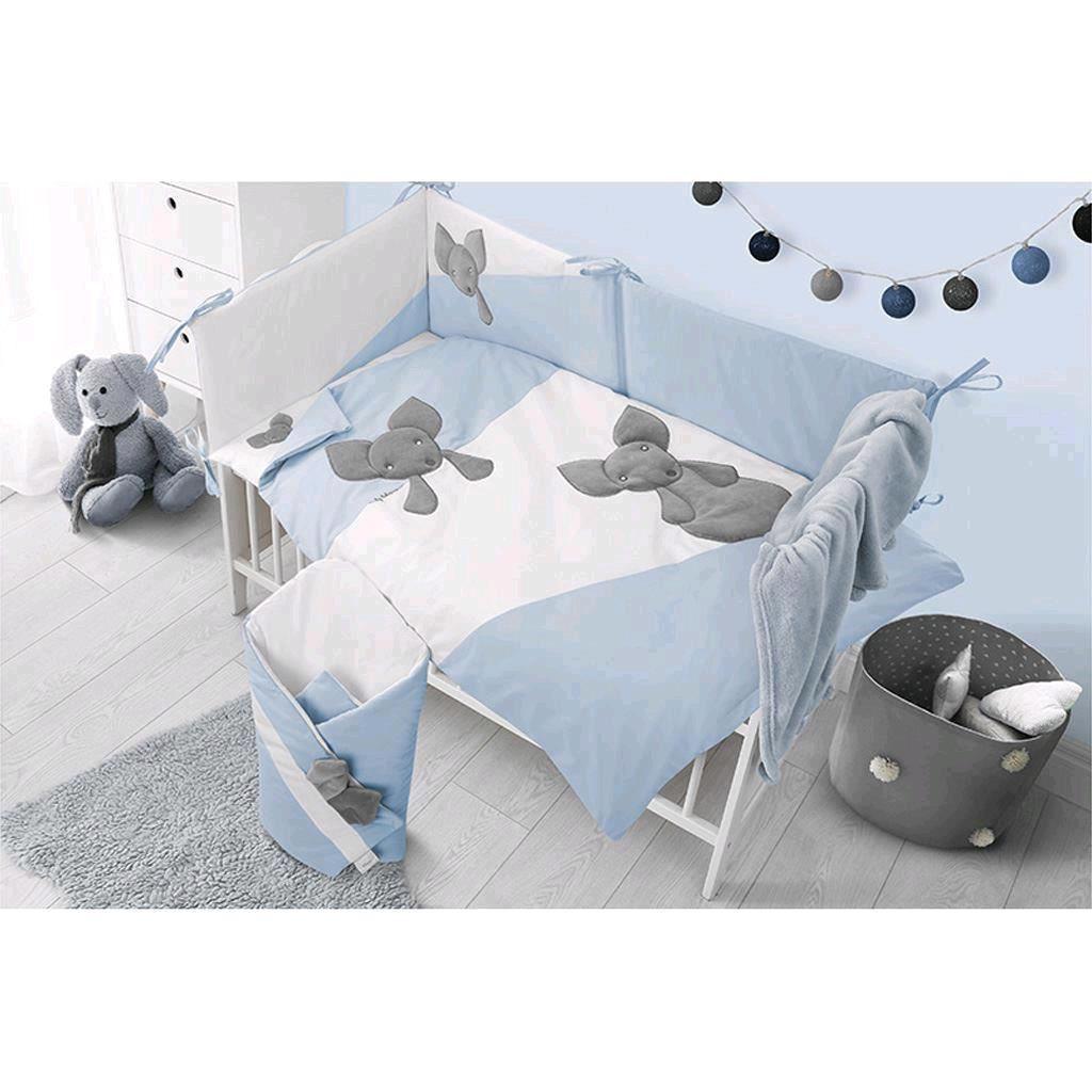 Hnízdečko pro miminko Belisima Minky Mouse modré