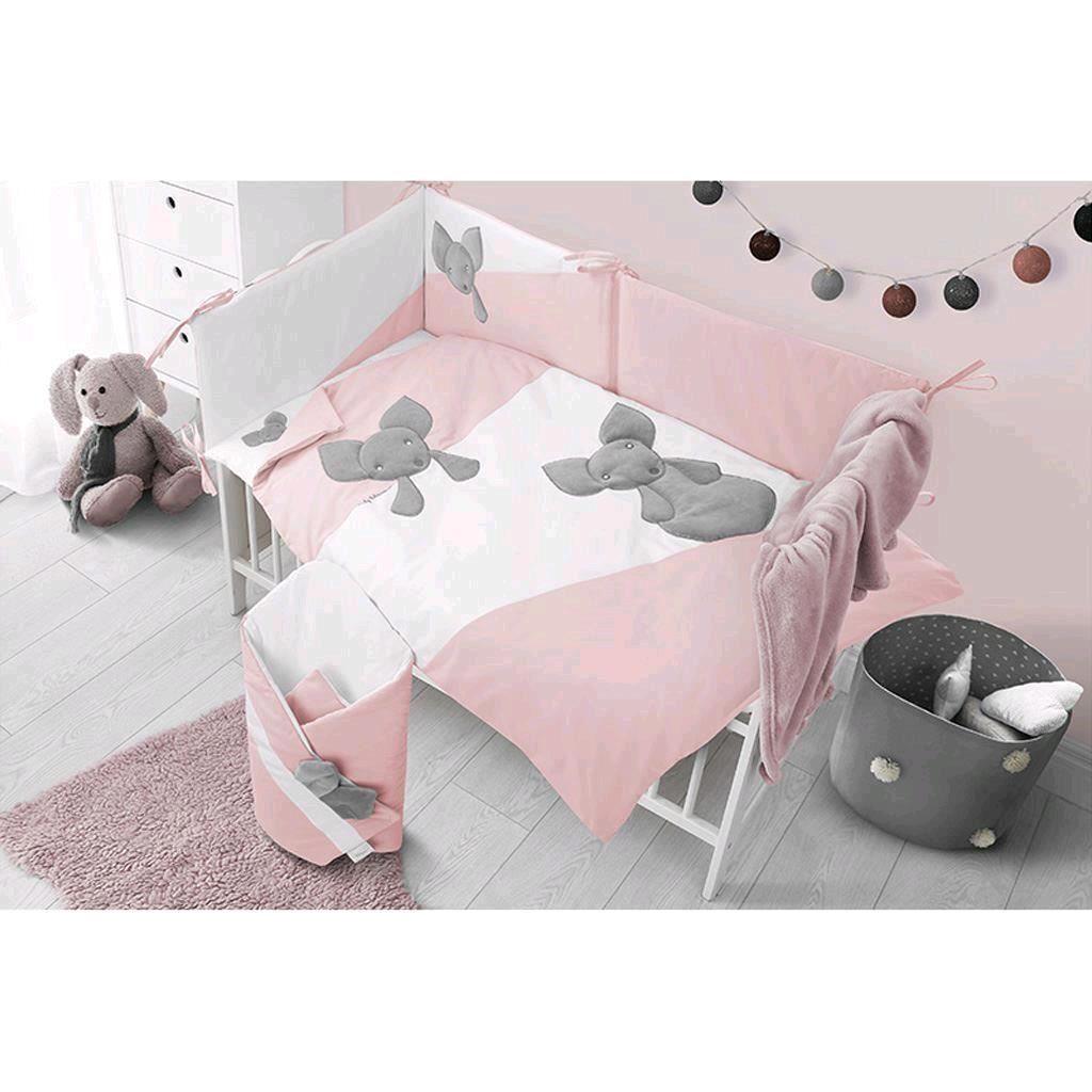 Hnízdečko pro miminko Belisima Minky Mouse růžové