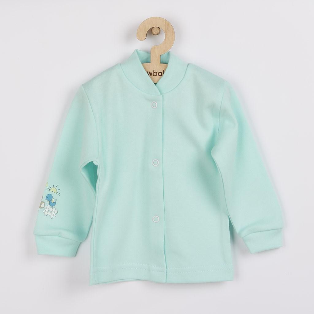 Kojenecký kabátek New Baby Donkey tyrkysový, vel. 50