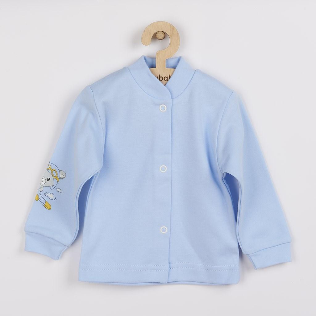 Kojenecký kabátek New Baby Teddy pilot modrý, Velikost: 50