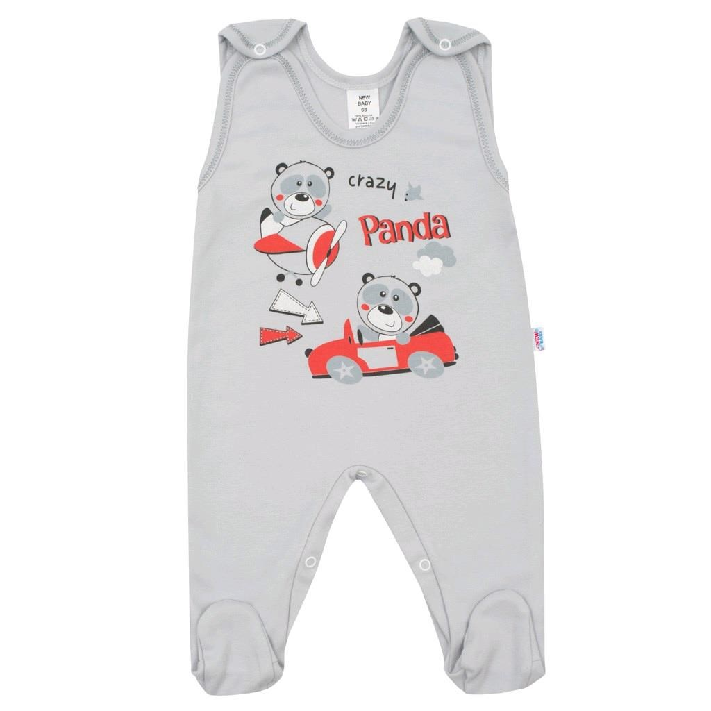 Kojenecké dupačky New Baby Crazy Panda, 86 (12-18m)