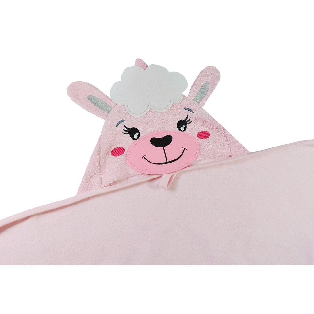 Dětská osuška Koala Ranch růžová