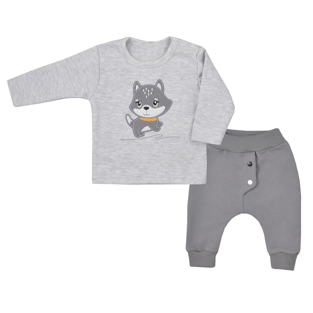 Kojenecké tričko s dlohým rukávem a tepláčky Koala Doggy, 68 (4-6m)
