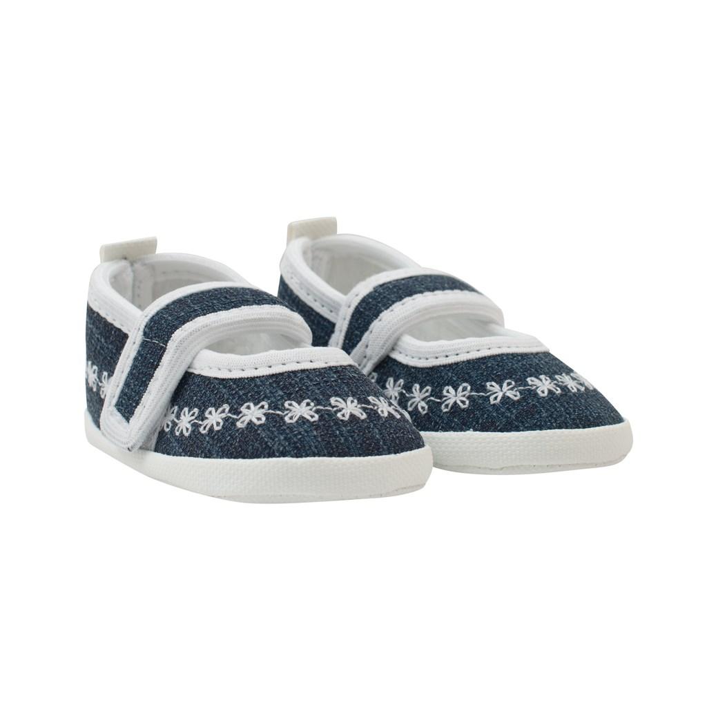 Kojenecké capáčky New Baby Jeans bílé 12-18 m