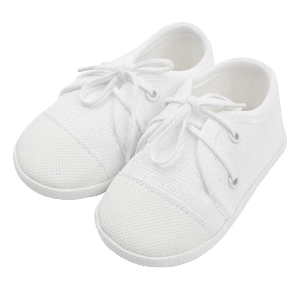 Kojenecké capáčky tenisky New Baby bílé 0-3 m, Velikost: 0-3 m
