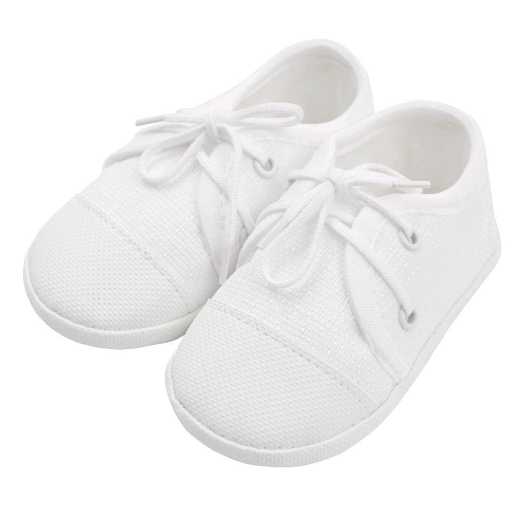 Kojenecké capáčky tenisky New Baby bílé 6-12 m, 6-12 m