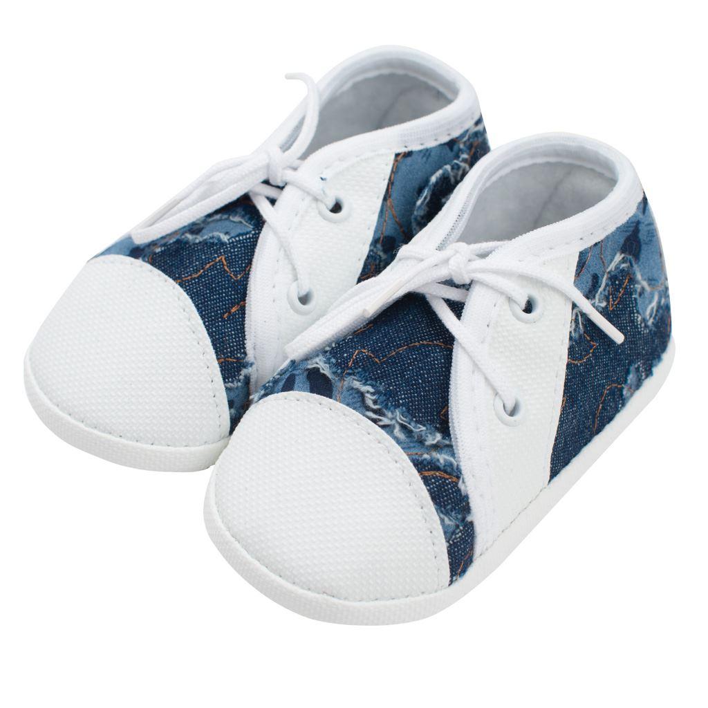 Kojenecké capáčky tenisky New Baby modré 0-3 m, 0-3 m