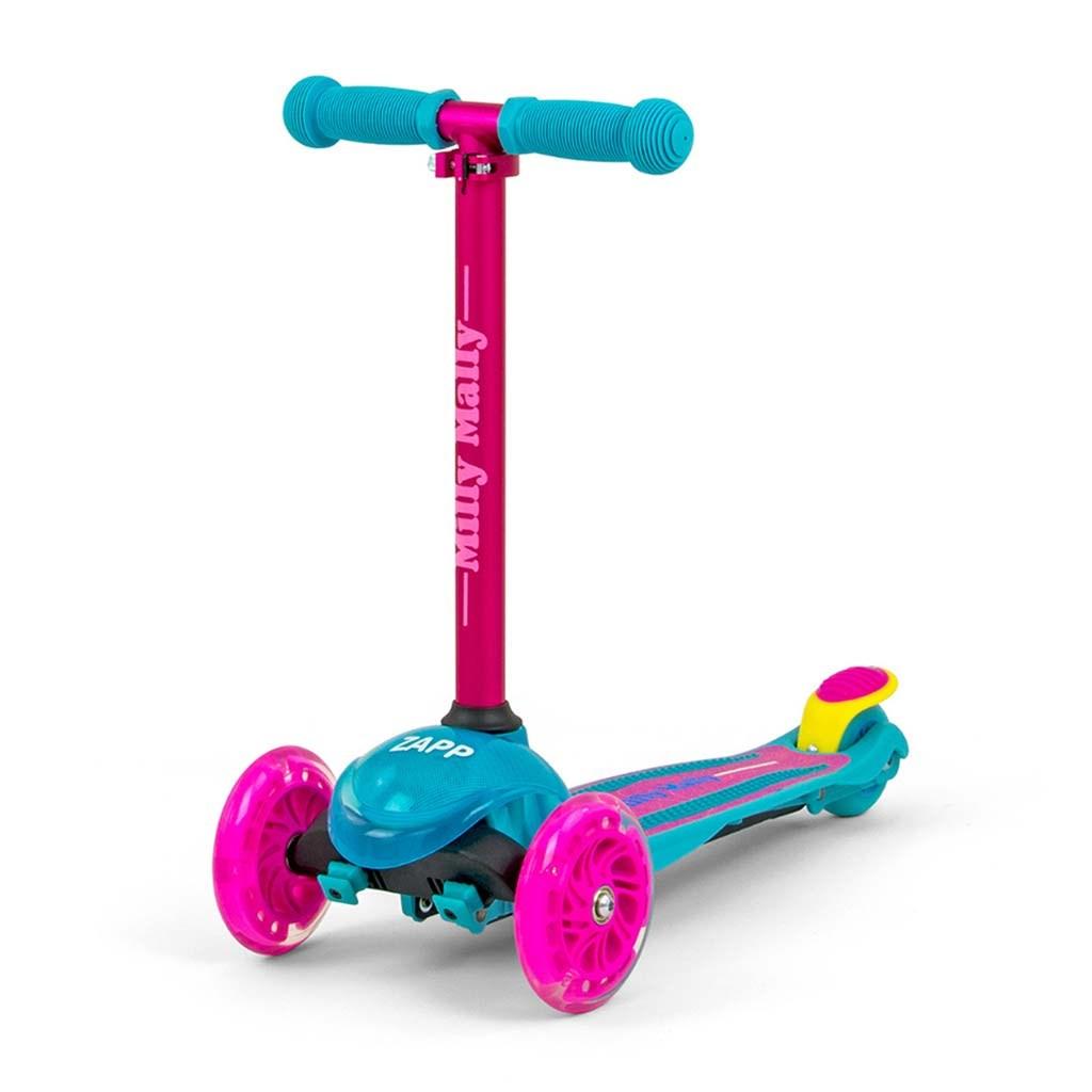 Dětská koloběžka Milly Mally Scooter Zapp pink