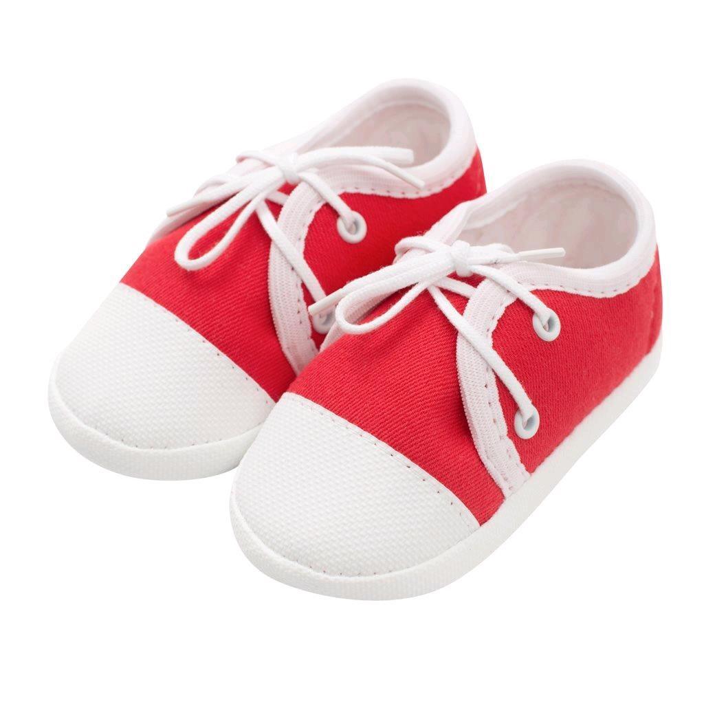 Kojenecké capáčky tenisky New Baby červené 3-6 m, 3-6 m