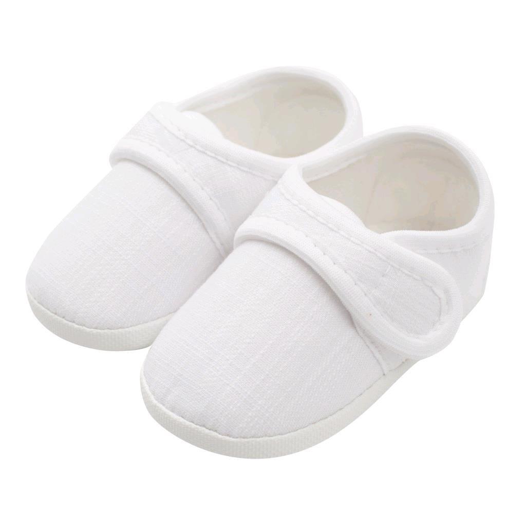 Kojenecké capáčky New Baby Linen bílé 3-6 m, 3-6 m