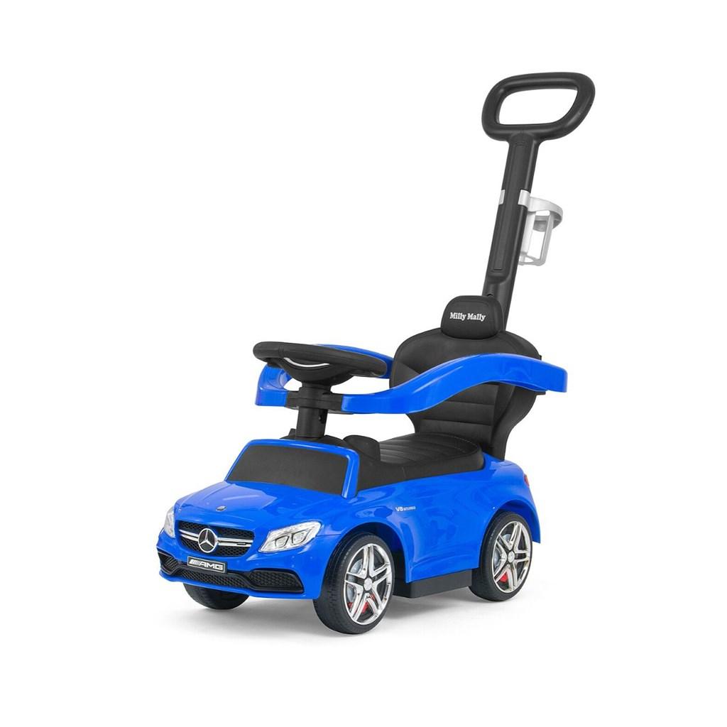 Odrážedlo s vodící tyčí Mercedes Benz AMG C63 Coupe Milly Mally blue