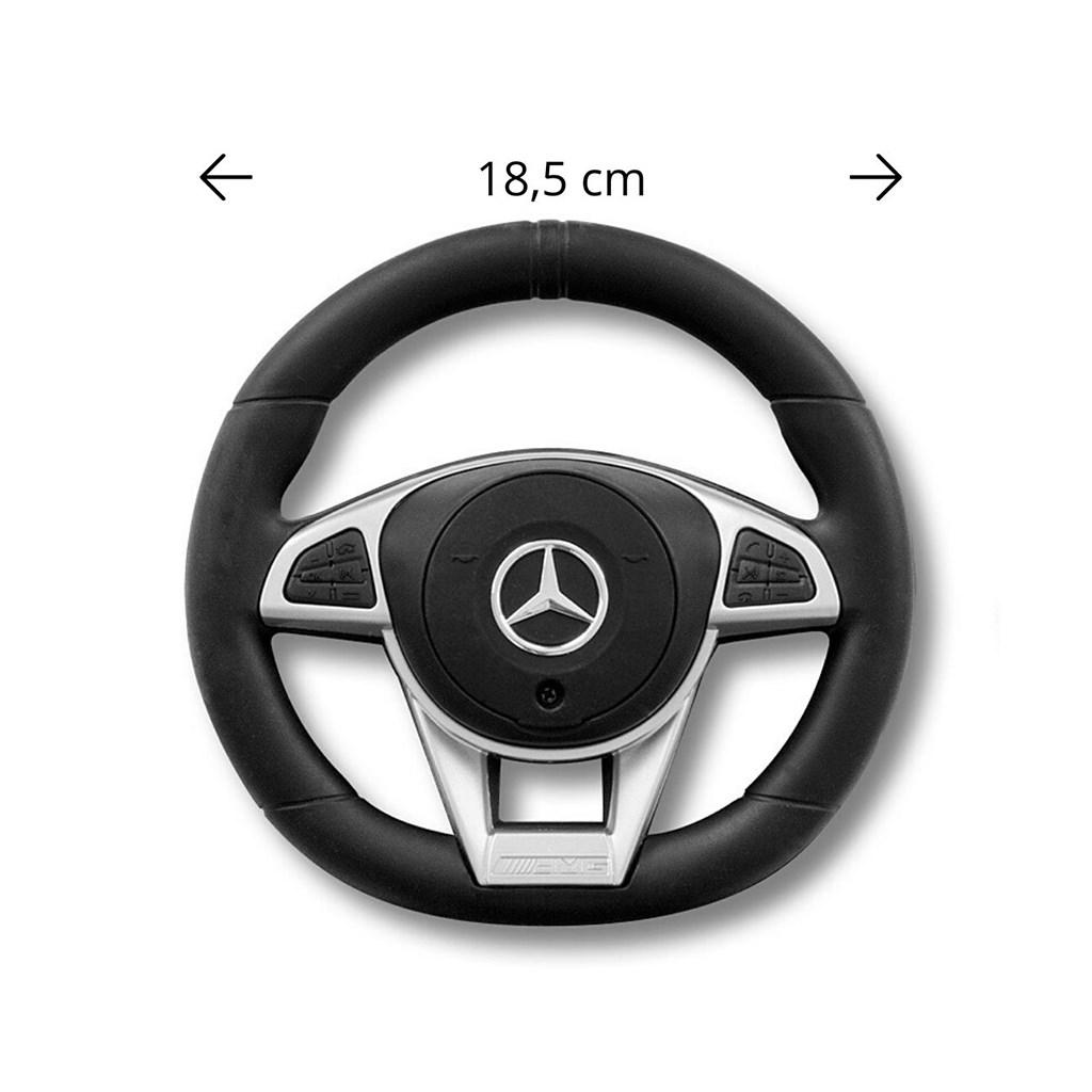 Odrážedlo s vodící tyčí Mercedes Benz AMG C63 Coupe Milly Mally black