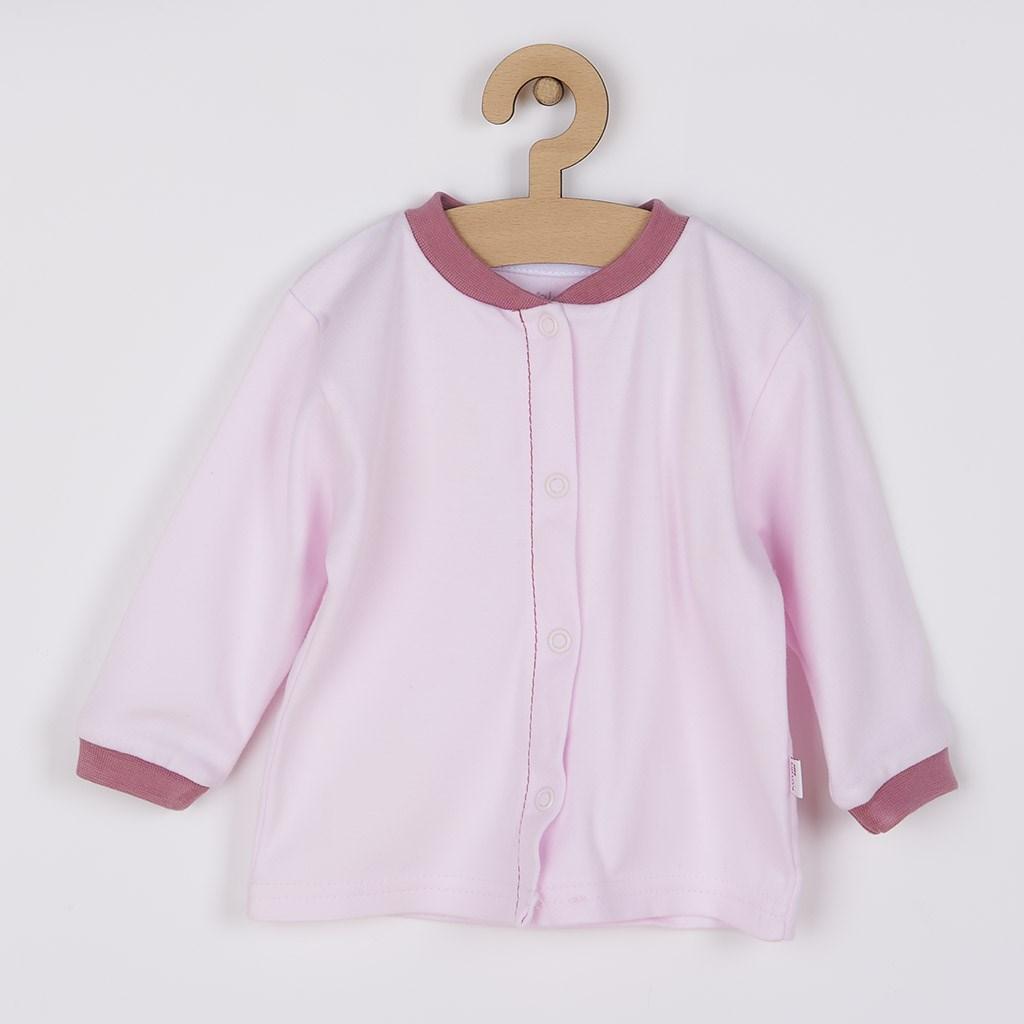 Kojenecký kabátek z organické bavlny Koala Lesní Přítel růžový, Velikost: 74 (6-9m)