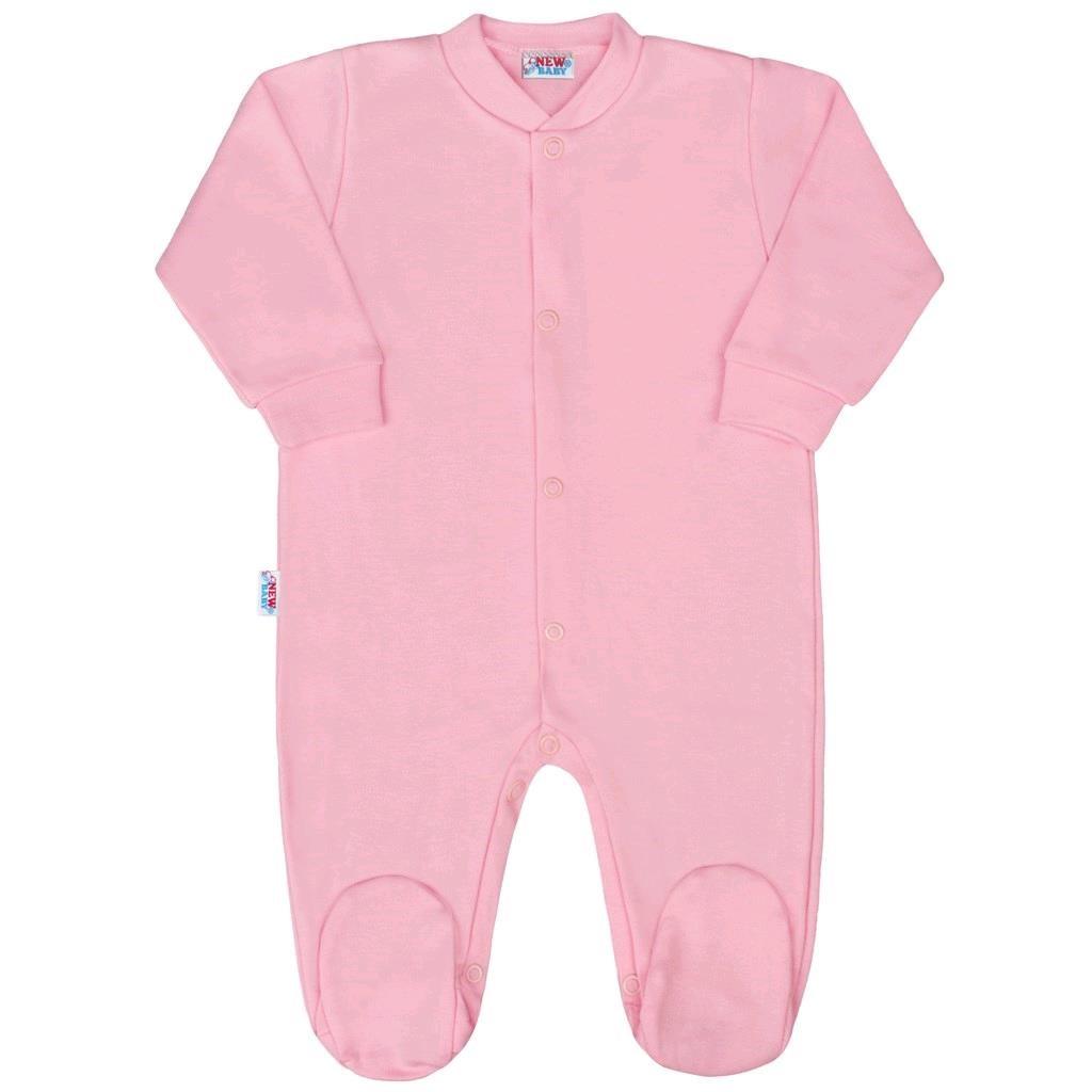 Kojenecký overal New Baby Classic II růžový, 92 (18-24m)