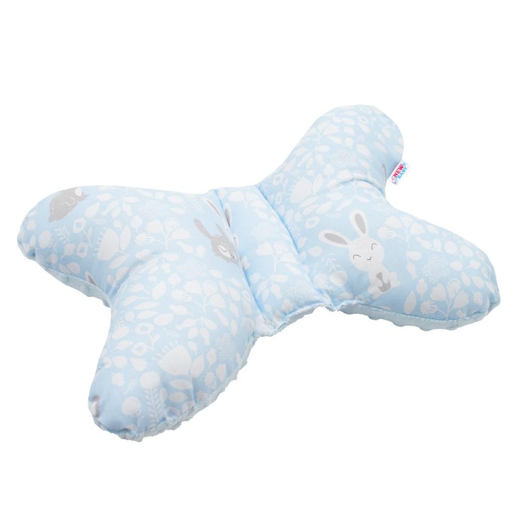 Stabilizační polštářek New Baby Králíčci modrý