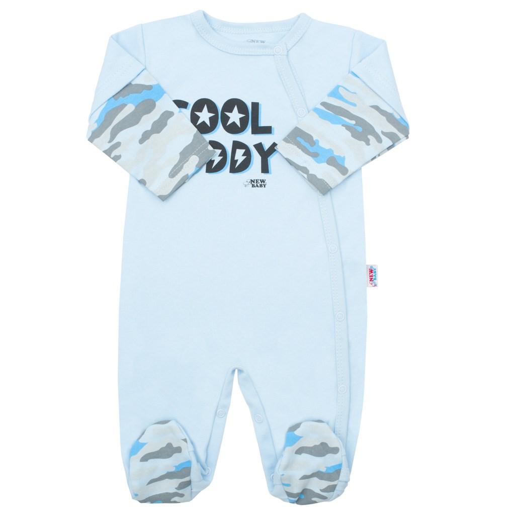 Kojenecký overal New Baby With Love modrý, Velikost: 62 (3-6m)