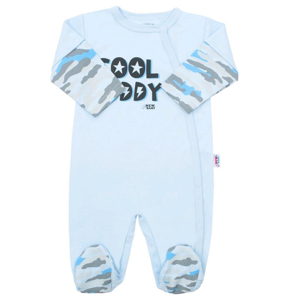 Kojenecký overal New Baby With Love modrý, vel. 80 (9-12m)